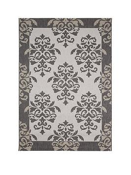 Very Damask Flatweave Rug Picture