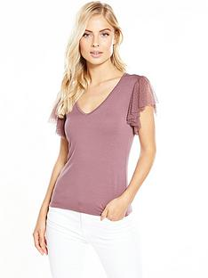 v-by-very-polka-dot-frill-jersey-t-shirt-blush