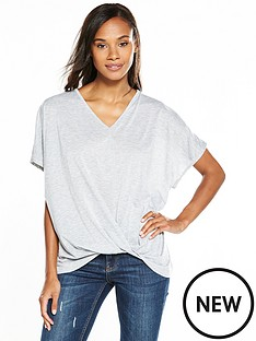v-by-very-knot-front-batwing-top-grey-marl