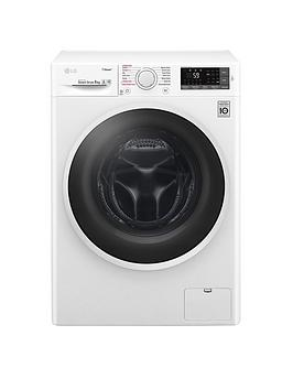 Lg F4J6Ty0Ww 8Kg Load 1400 Spin Washing Machine