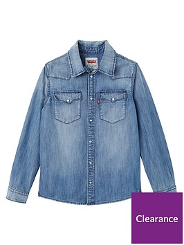 levis-boys-denim-shirt