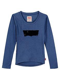levis-girls-long-sleeve-sequin-t-shirt