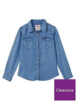 levis-girls-denim-shirt