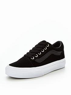 vans-vans-uy-old-skool-suedepatent-junior-trainer