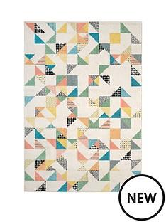 pastel-geo-print-rug