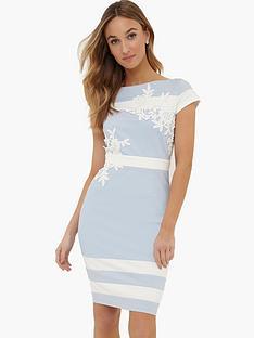 paper-dolls-cream-contrast-lace-trim-dress