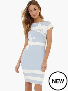paper-dolls-cream-contrast-lace-trim-dress