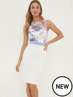 paper-dolls-multi-printed-crochet-lace-top-dress