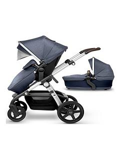 silver-cross-wave-pushchair-amp-carrycot
