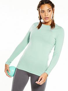 adidas-techfitreg-long-sleeved-top-greennbsp