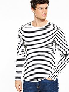 selected-homme-long-sleeve-striped-tshirt