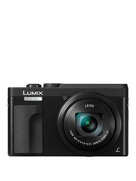 Panasonic Panasonic Dc-Tz90Eb-K Lumix 30X Travel Zoom Camera - Black Picture