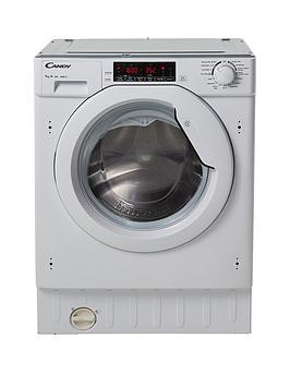 Candy Cbwm 916Twh 9Kg Load 1600 Spin Integrated Washing Machine  White