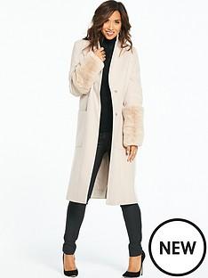 myleene-klass-faux-fur-crombie-coat