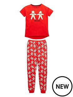 v-by-very-girls-gingerbread-christmas-pyjamas