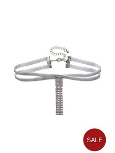 river-island-cross-diam-drop-choker