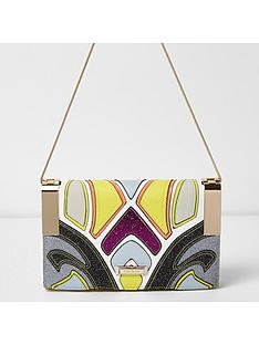 river-island-multi-colour-hinge-clutch