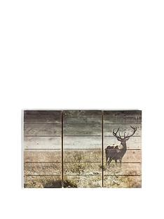graham-brown-highland-stag-print-onnbspfir-wood