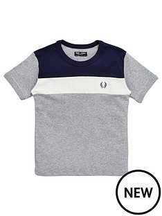 fred-perry-boys-colourblock-chest-panel-t-shirt