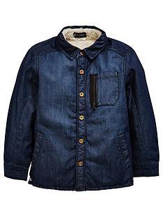 mini-v-by-very-boys-denim-faux-fleece-lined-shacket
