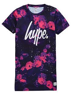 hype-girls-pink-buds-t-shirt-dress