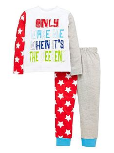 mini-v-by-very-boys-neon-slogan-and-star-pyjamas