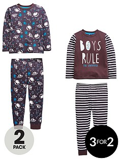 mini-v-by-very-boys-2-pack-039rule-the-universe039-pyjamas