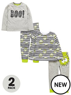 mini-v-by-very-boys-2-pack-cheeky-monster-pyjamas