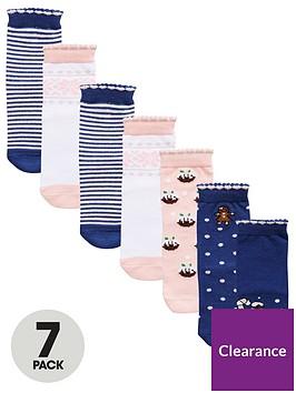 mini-v-by-very-girls-7-pack-christmas-novelty-socks