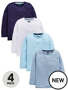 mini-v-by-very-boys-4-pack-blue-tees