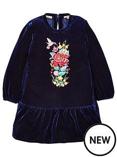 mini-v-by-very-girls-velvet-drop-waist-embroided-dress