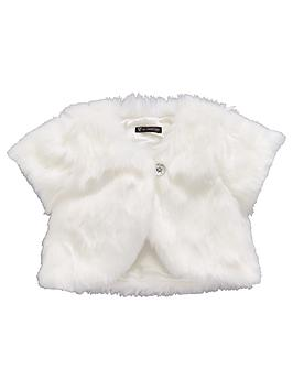 mini-v-by-very-girls-0-16-years-occasion-faux-fur-shrug