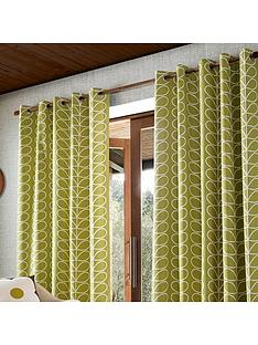 Orla Kiely Orla Kiely Linear Stem Lined Eyelet Curtains Part 54