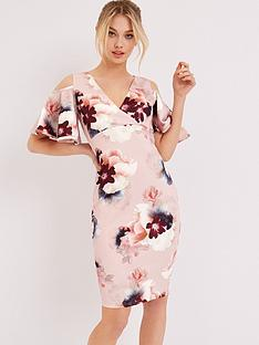 girls-on-film-girls-on-film-cold-shoulder-printed-midi-dress