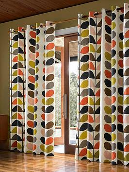 orla-kiely-linear-stem-lined-eyelet-curtainsnbsp