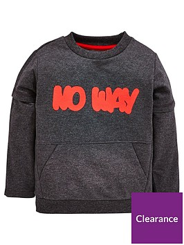 mini-v-by-very-boys-grey-marl-slogan-sweat