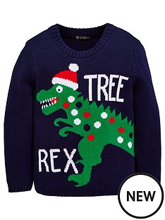 mini-v-by-very-boys-dinosaur-novelty-christmas-jumper
