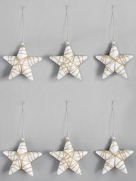 pack-of-6-star-hanging-tree-decorations