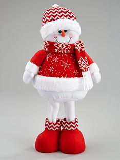 16-inch-standing-red-snowman-christmas-decoration
