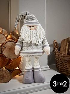 16-inch-standing-grey-santa-christmas-decoration