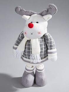 16-inch-grey-standing-reindeer-christmas-decoration