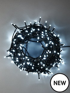 360-super-bright-white-led-christmas-lightsnbspwith-green-cord-plus-free-battery-operated-berry-lights