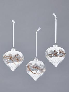 glass-onion-shaped-snowy-tree-hanging-decorations