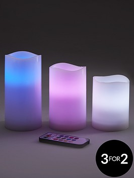 led-colour-changing-candles-set-of-3