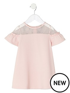 river-island-mini-girls-pink-lace-ruffle-sleeve-dress