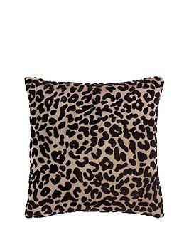 myleene-klass-home-leopard-cushion--nbspblack