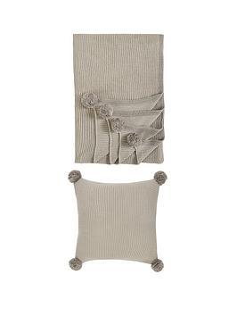 ideal-home-kendal-throw-and-cushion-set