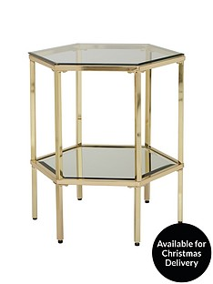 myleenenbspglass-and-metal-side-table