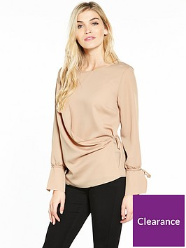 v-by-very-satin-tie-wrap-blouse