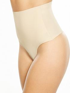 pour-moi-waisted-shaping-thong-nude